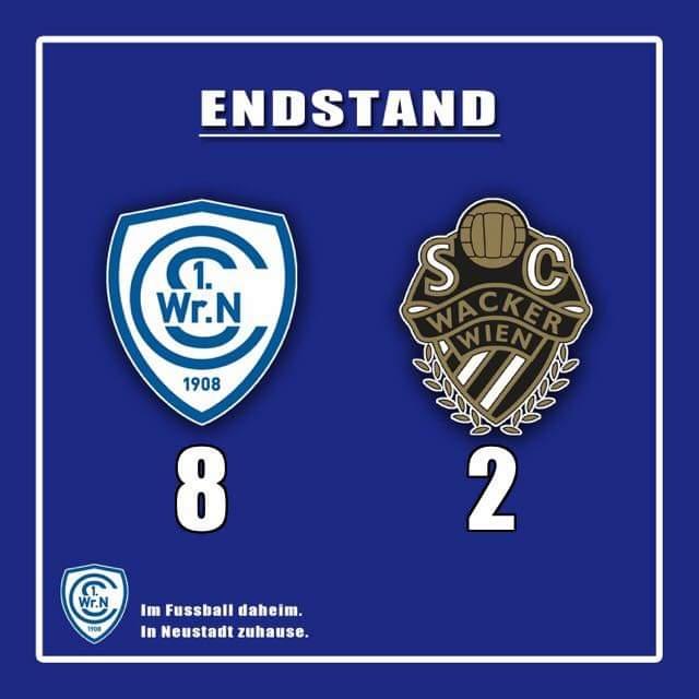 8:2-Sensation gegen SC Wacker Wien
