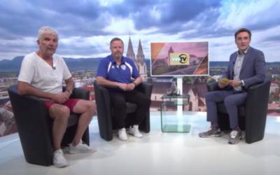 Vorstand Spenger und Sportdirektor Griesmayer im WNTV-Interview