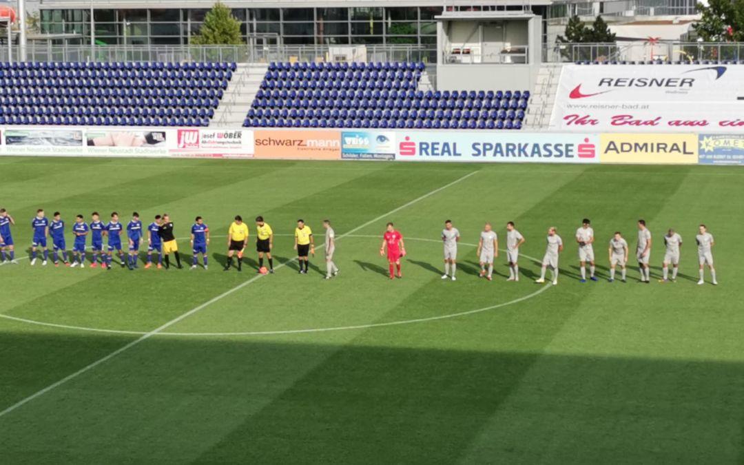 2:2 Remis der Amateure beim ersten Heimspiel gegen Guntramsdorf