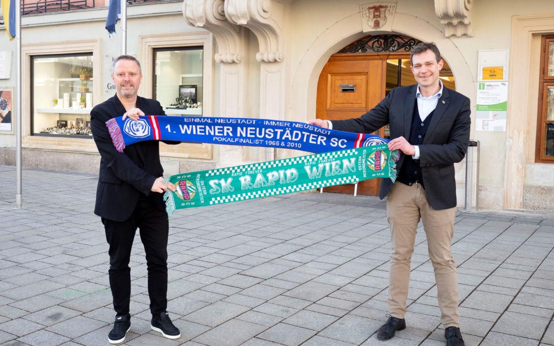 SK Rapid Amateure zu Gast in Wiener Neustadt