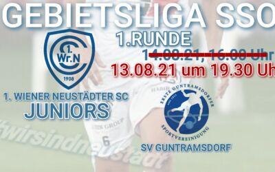 VORSCHAU: Juniors vs. SV 1. SVg Guntramsdorf