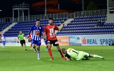 Knappe 0:1 Heimniederlage gegen Drassburg bei der Heimpremiere