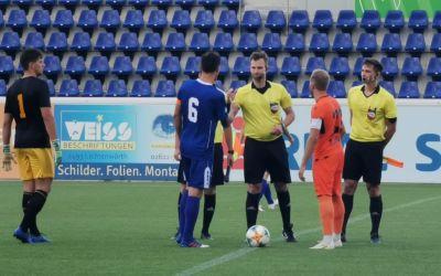 1:3 Niederlage gegen den Zweitligisten SV Horn